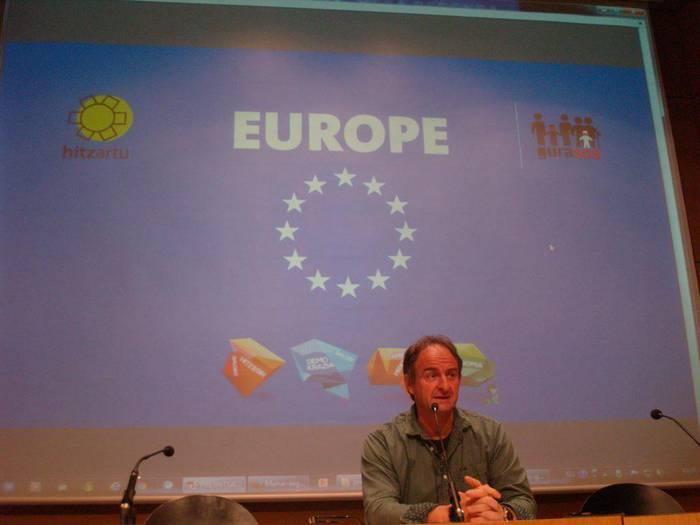 Udazkenean Europako Parlamentura joango da GuraSOS