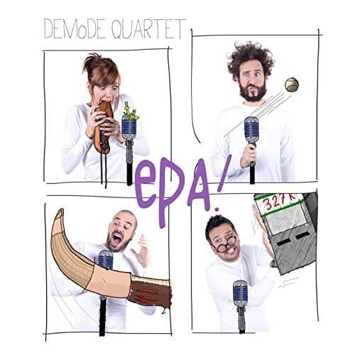 """Demode Quartet taldekoen """"Epa"""" emanaldia gaur Zubietan"""