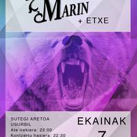 Ibai Marin+Etxe kontzertuan