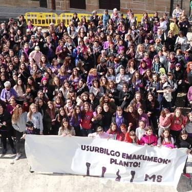 Martxoaren 8ko greba feminista baloratzeko bilera
