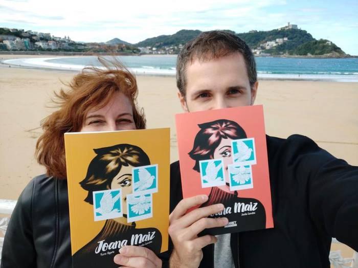 """""""Joana Maiz"""" Joseba Larratxeren sortze lan berria"""