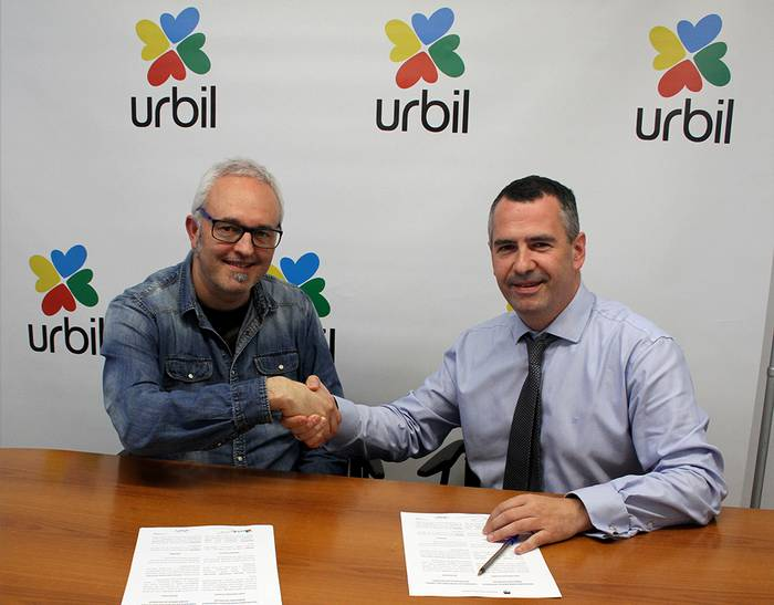 Urbil, Gipuzkoako Euskal Pilota Federazioaren babesle berria