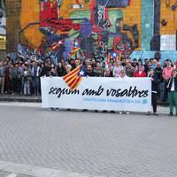 Gure Eskuk deitutako manifestazioa