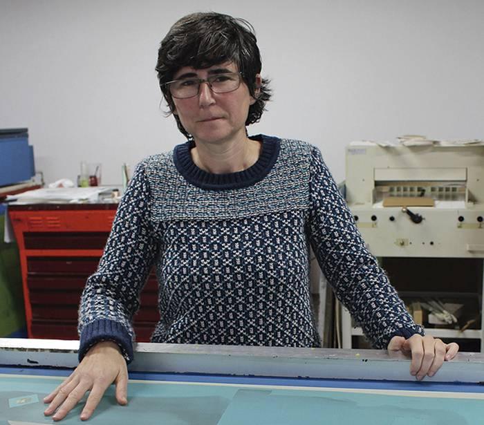 Harria Hitz bisita gidatua larunbatean, serigrafia tailerrarekin