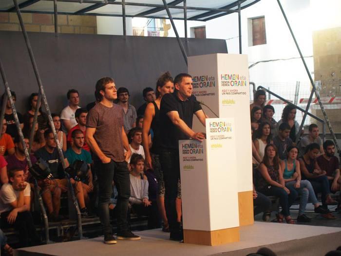Arnaldo Otegi, otsailaren 21ean Sutegin