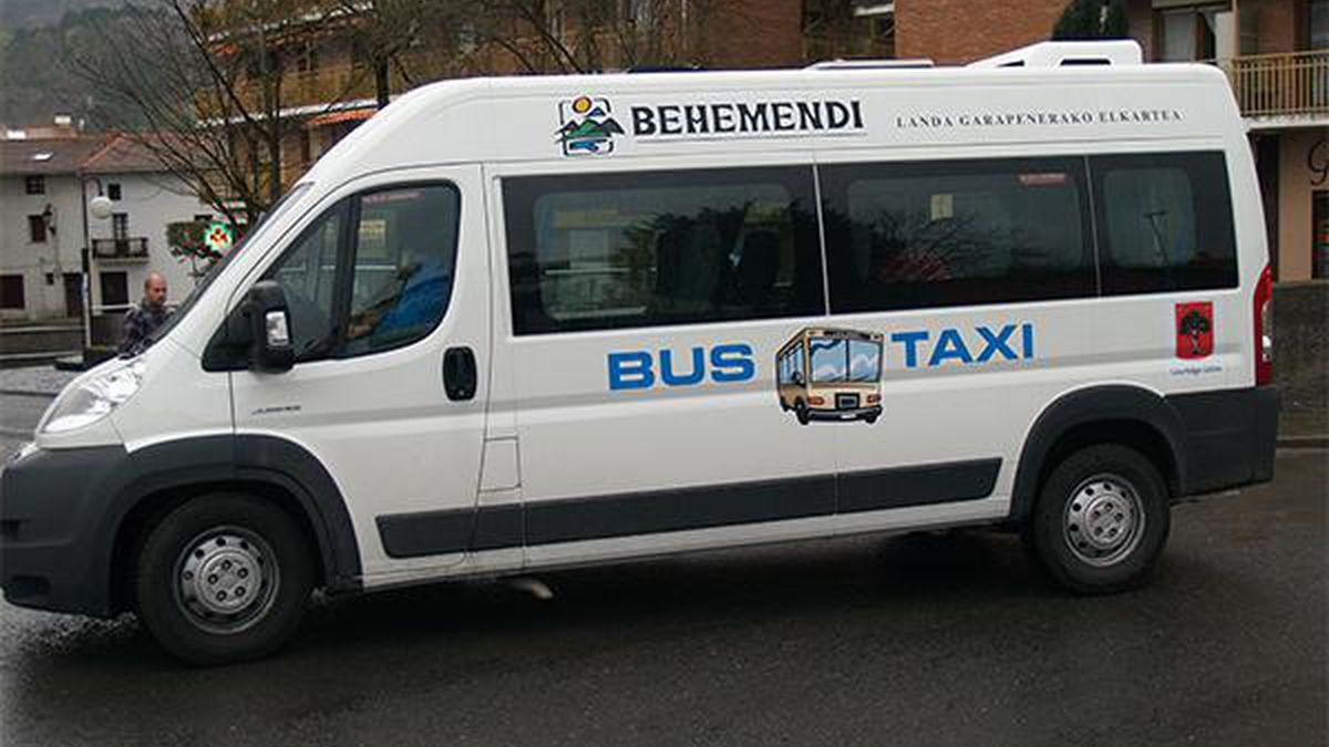 Taxibusa martxan berriz gaurtik, ordutegi berriak Lurraldebus eta Euskotrenen zerbitzuetan