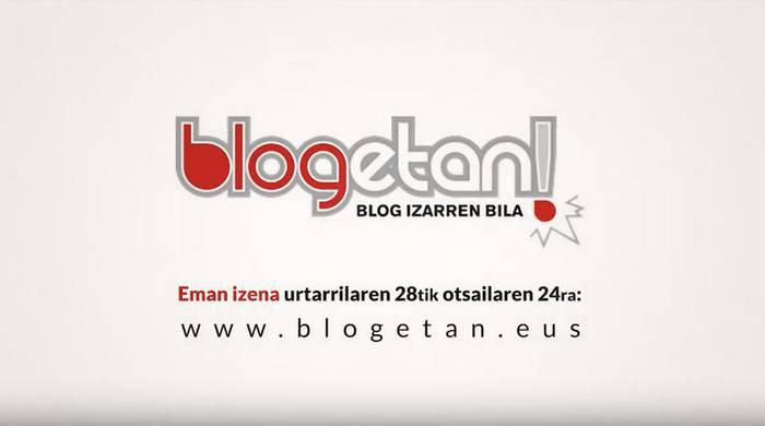 [BABESTUTAKO EDUKIA] Abian da 'Blogetan!' lehiaketaren hirugarren edizioa