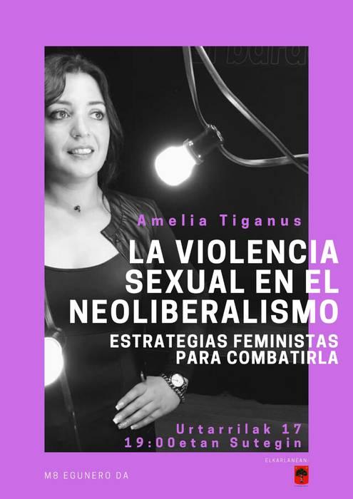 """Hitzaldia: """"La violencia sexual en el neoliberalismo: estrategias feministas para combatirla"""""""